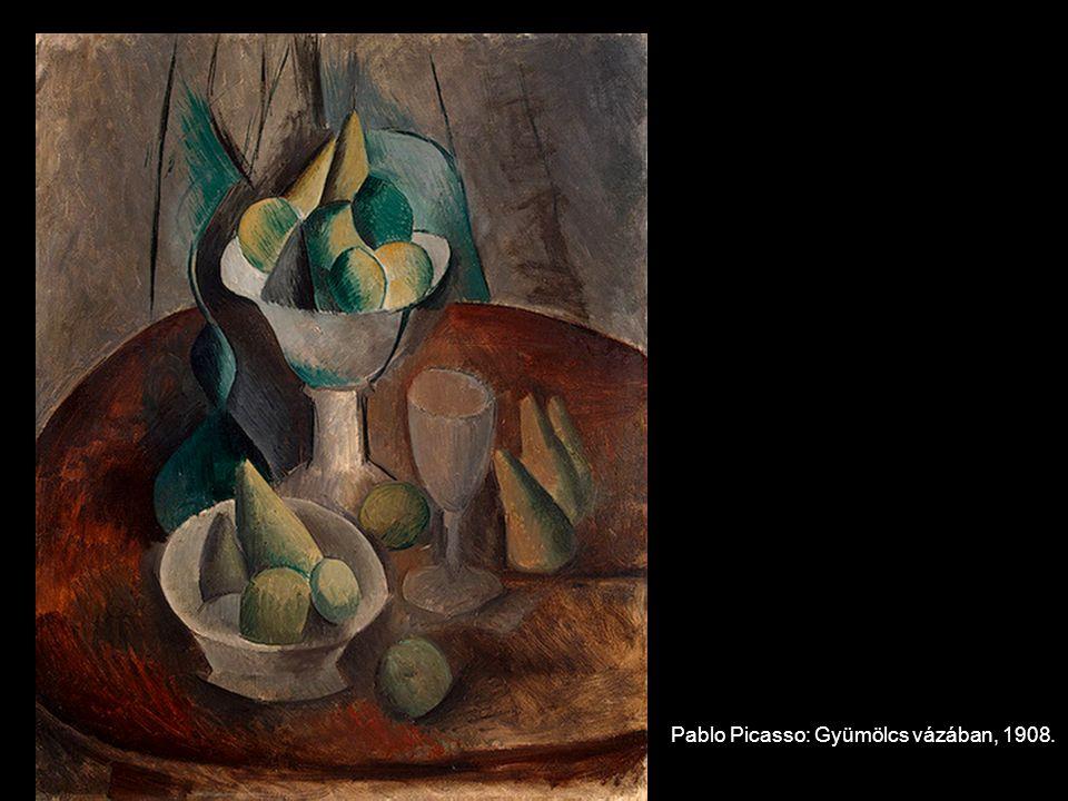 Pablo Picasso: Gyümölcs vázában, 1908.