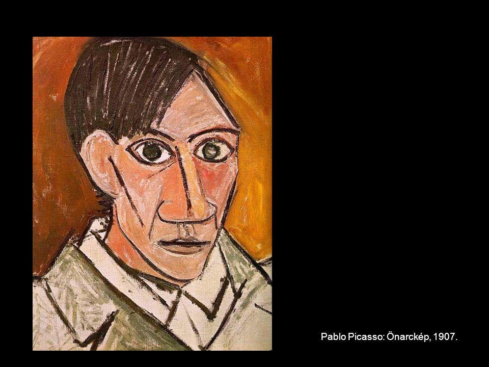 Pablo Picasso: Nő legyezővel, 1907.