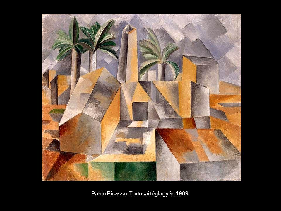 Pablo Picasso: Tortosai téglagyár, 1909.