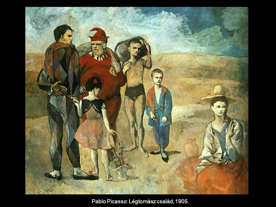 Pablo Picasso: Részlet az Avignoni kisasszonyokból, 1907.