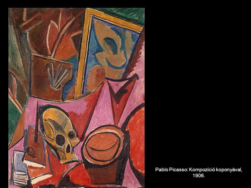 Pablo Picasso: Kompozíció koponyával, 1906.
