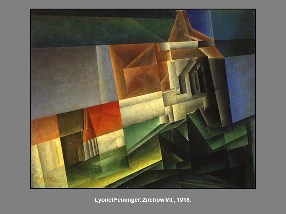 Lyonel Feininger: Zirchow VII., 1918.