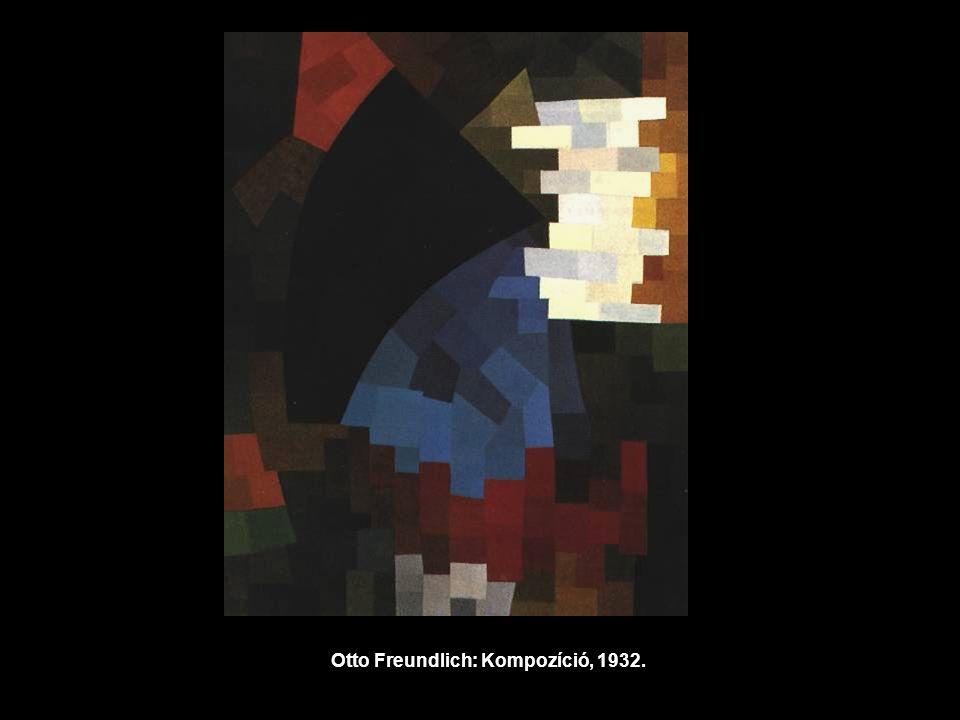 Otto Freundlich: Kompozíció, 1932.
