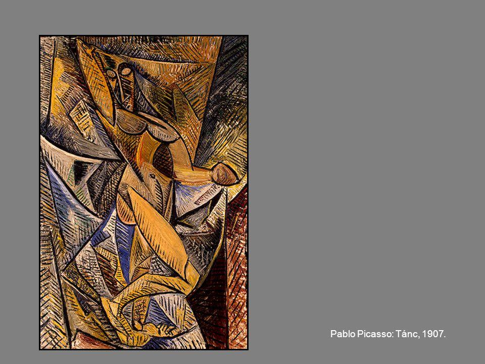 Pablo Picasso: Akt feje, 1907.