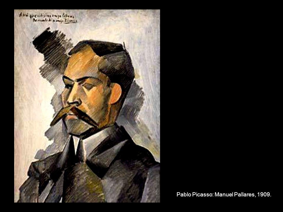 Pablo Picasso: Manuel Pallares, 1909.