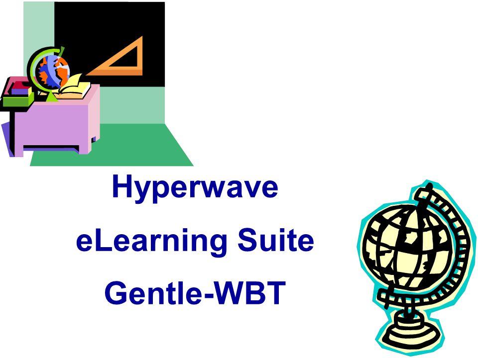 Hyperwave eLearning Suite Gentle-WBT