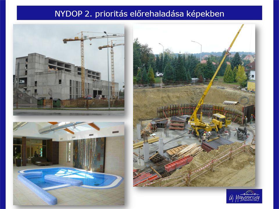 NYDOP 2. prioritás előrehaladása képekben