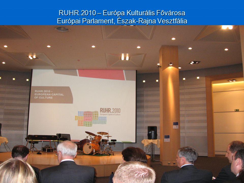 RUHR.2010 – Európa Kulturális Fővárosa Európai Parlament, Észak-Rajna Vesztfália