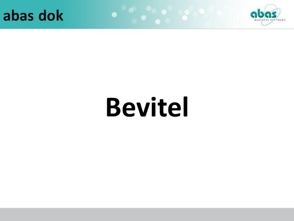 abas dok Bevitel