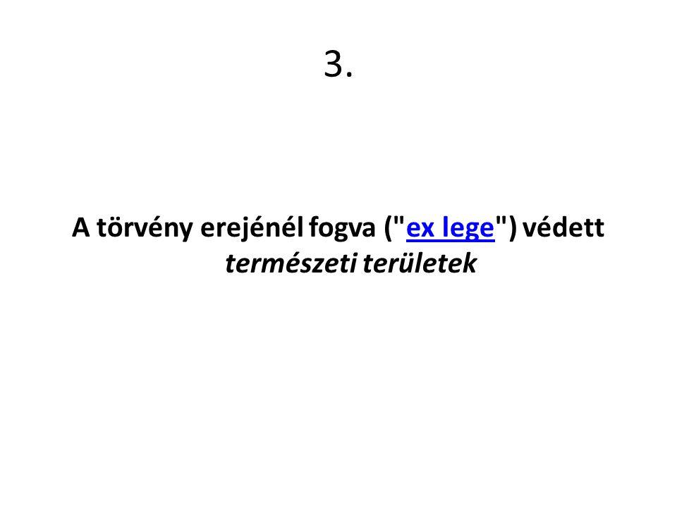 3. A törvény erejénél fogva (