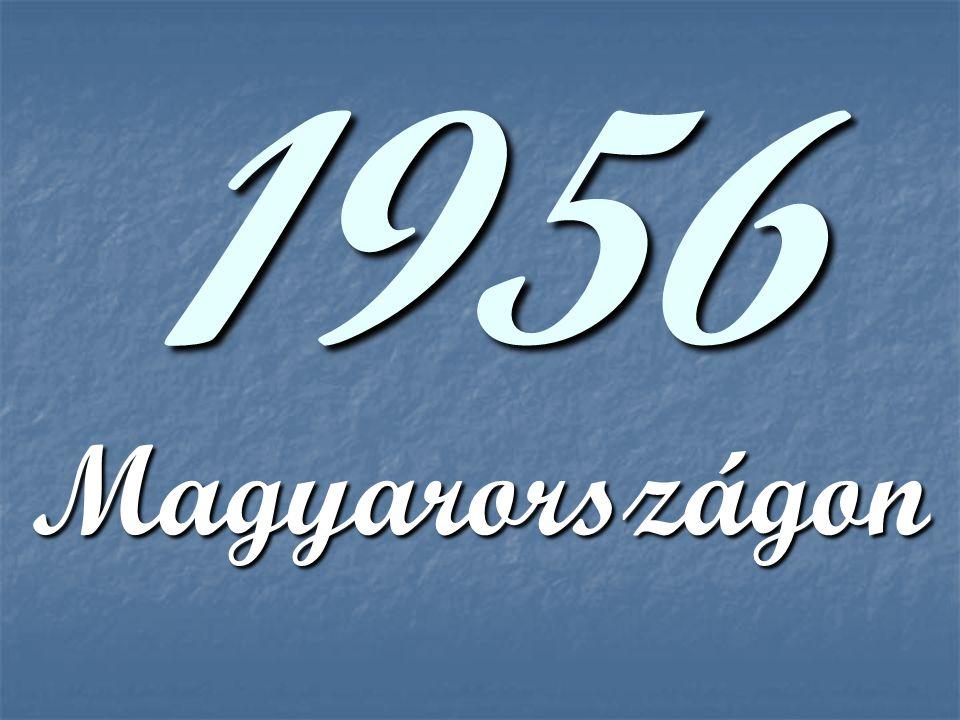 1956 Magyarországon