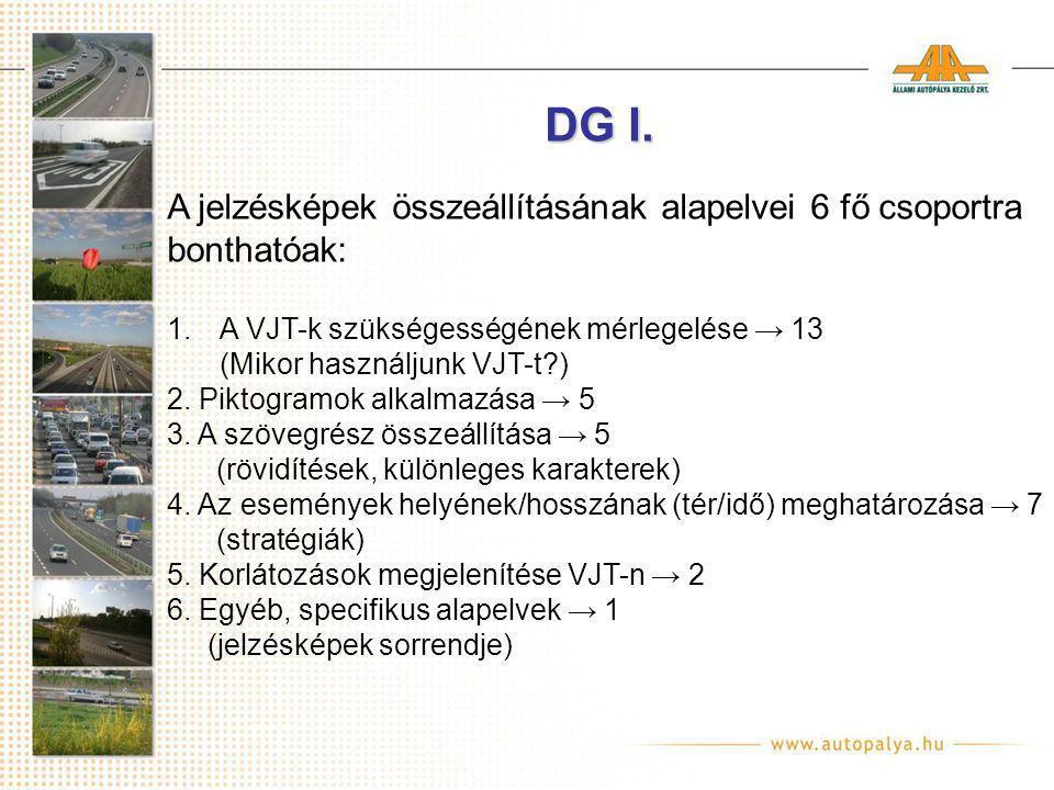 DG I.
