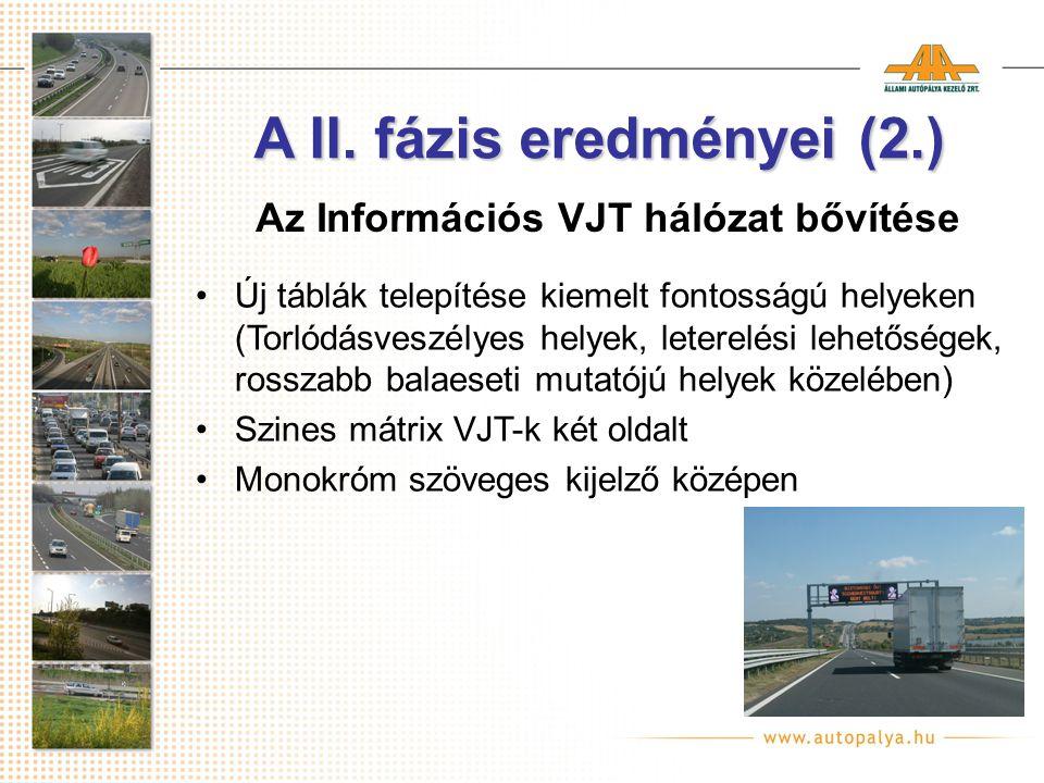 Portálok elhelyezkedése (2007) MAESTRO 2006 2007 A II. fázis eredményei (3.)
