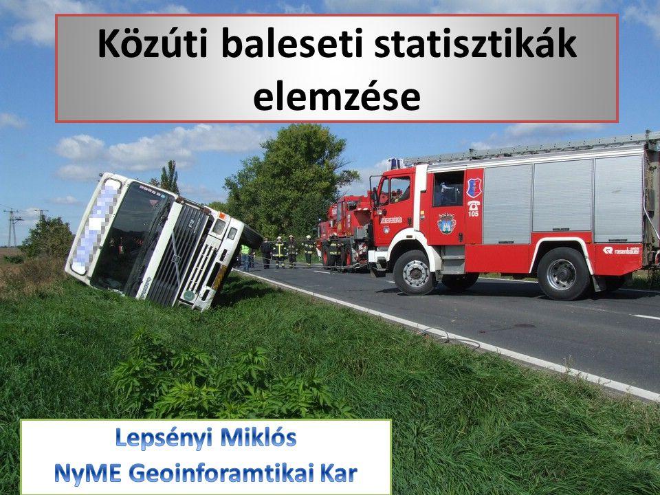 Közúti baleseti statisztikák elemzése