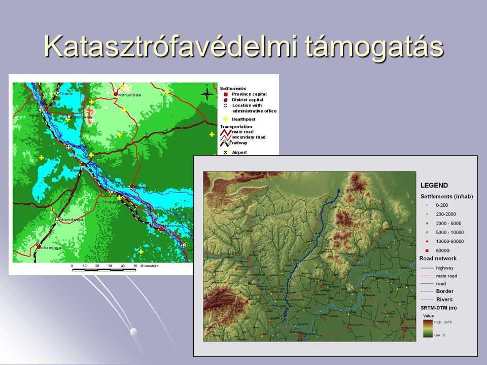 Térinformatika és ITS Katasztrófavédelmi támogatás
