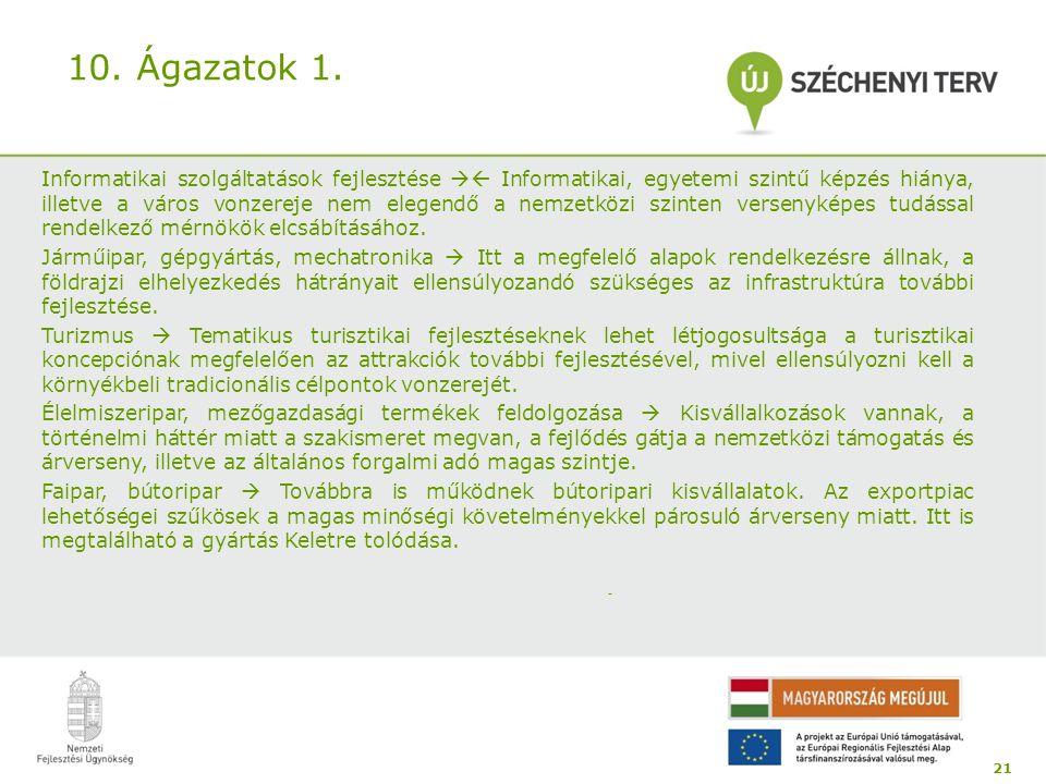 10.Ágazatok 1.