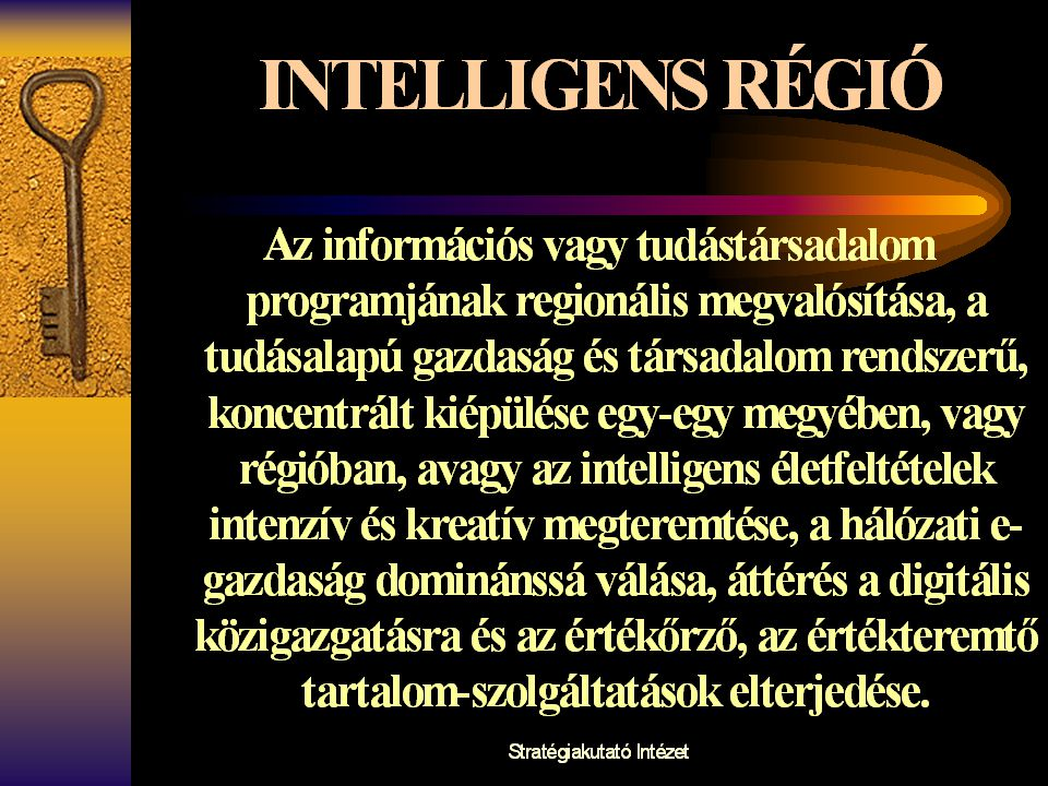 Intelligens régiók