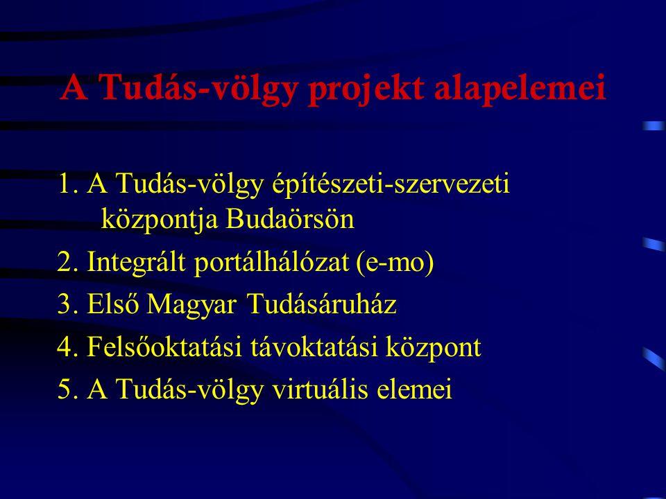 A Virtuális megye program elemei 1.