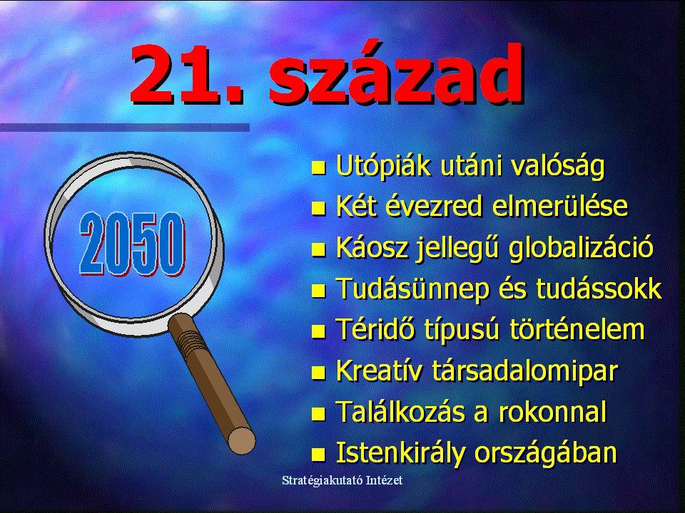 Stratégiakutató Intézet MAGYARORSZÁG A 21. SZÁZAD ELSŐ FELÉBEN, különös tekintettel az intelligens civil társadalomra Varga Csaba Stratégiakutató Inté