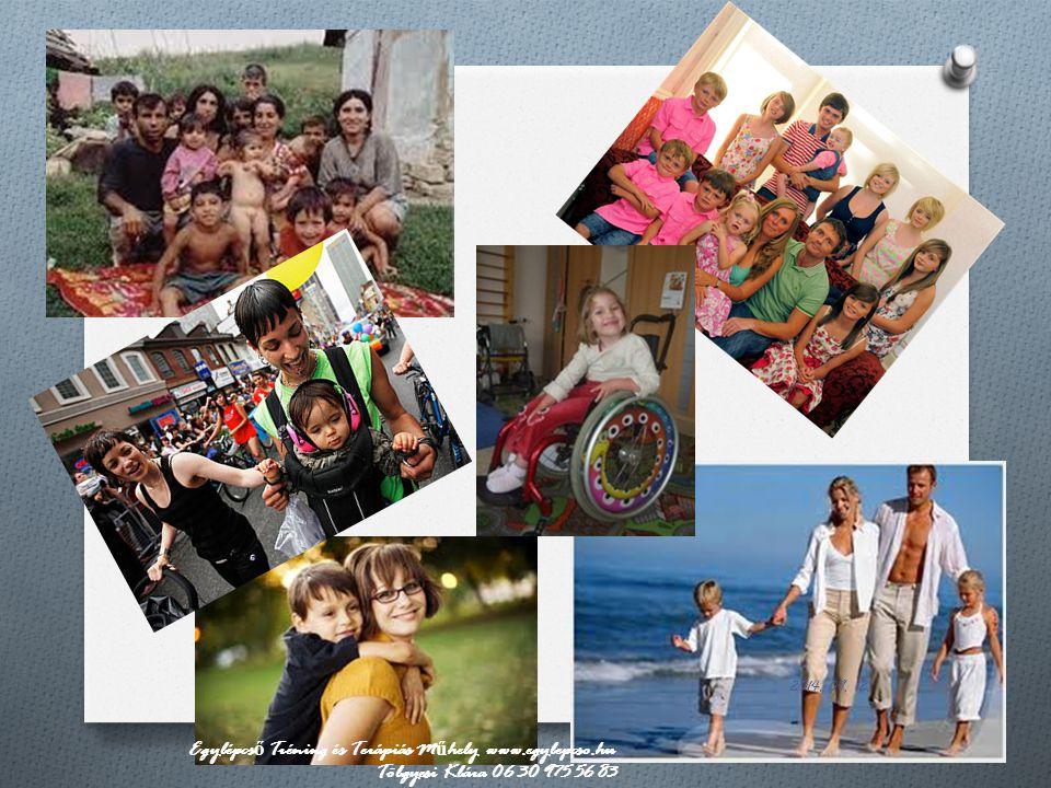 Egy kis csoportosítás O Létszám szerint: - egyszülős (nem csonka!) - kétszülős - nagycsalád Családi dinamikák, működéstípusok és/vagy patológiák szerint: - ld.