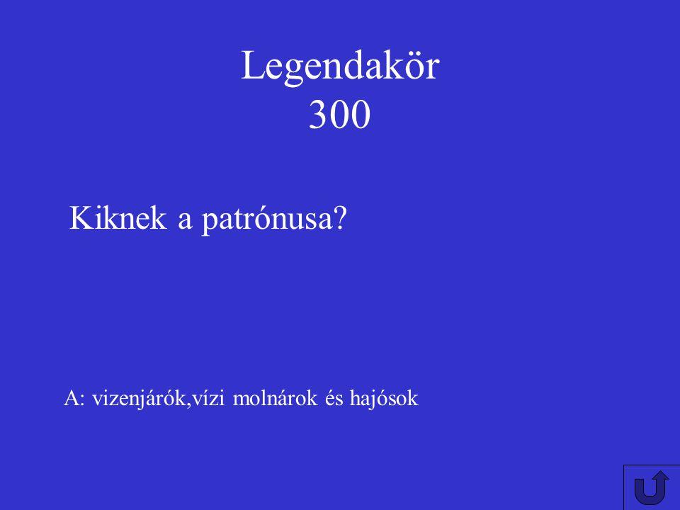 Legendakör 200 A: szentté olyan csodatévőket avatnak akikről legendák szólnak Kiket avatnak szentté?