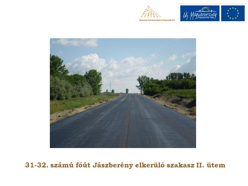31-32. számú főút Jászberény elkerülő szakasz II. ütem