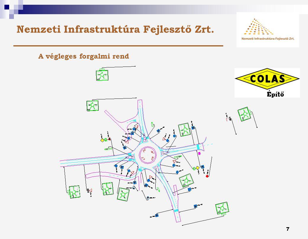 6 Nemzeti Infrastruktúra Fejlesztő Zrt. A Gergelyiugornyai körforgalom