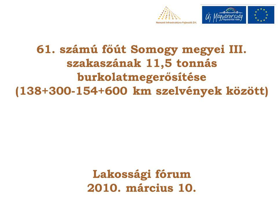 61.számú főút Somogy megyei III.