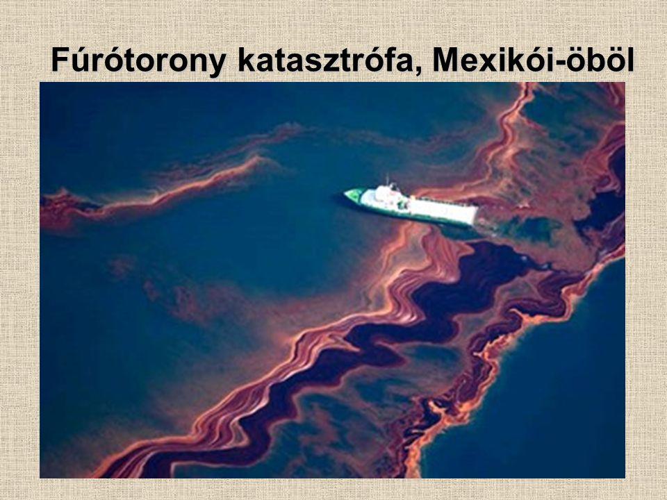 Fúrótorony katasztrófa, Mexikói-öböl