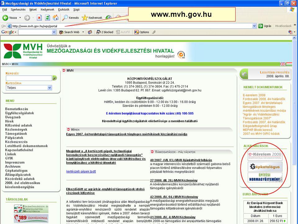48 www.mvh.gov.hu