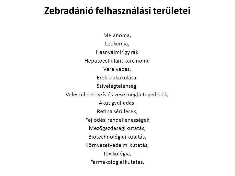 Melanoma, Leukémia, Hasnyálmirigy rák Hepatocelluláris karcinóma Véralvadás, Erek kiakakulása, Szívelégtelenség, Veleszületett szív és vese megbeteged