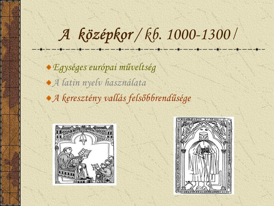 A középkori művészet / 7.osztály/ Mgr. Gútai Mónika