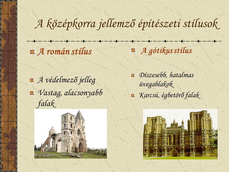 A középkor / kb. 1000-1300 / Egységes európai műveltség A latin nyelv használata A keresztény vallás felsőbbrendűsége