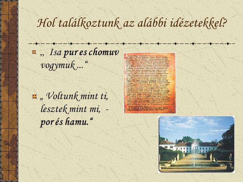 Állapítsd meg! Kálti Márk Képes Krónikájának oldalát látod iniciálé miniatúra Szerinted hol található az iniciálé és a miniatúra?