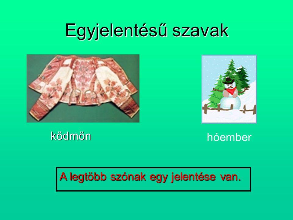 A szavak jelentése Horváth Anita Horváth Anita