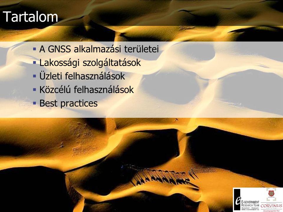 GNSS alkalmazási területek Dr.