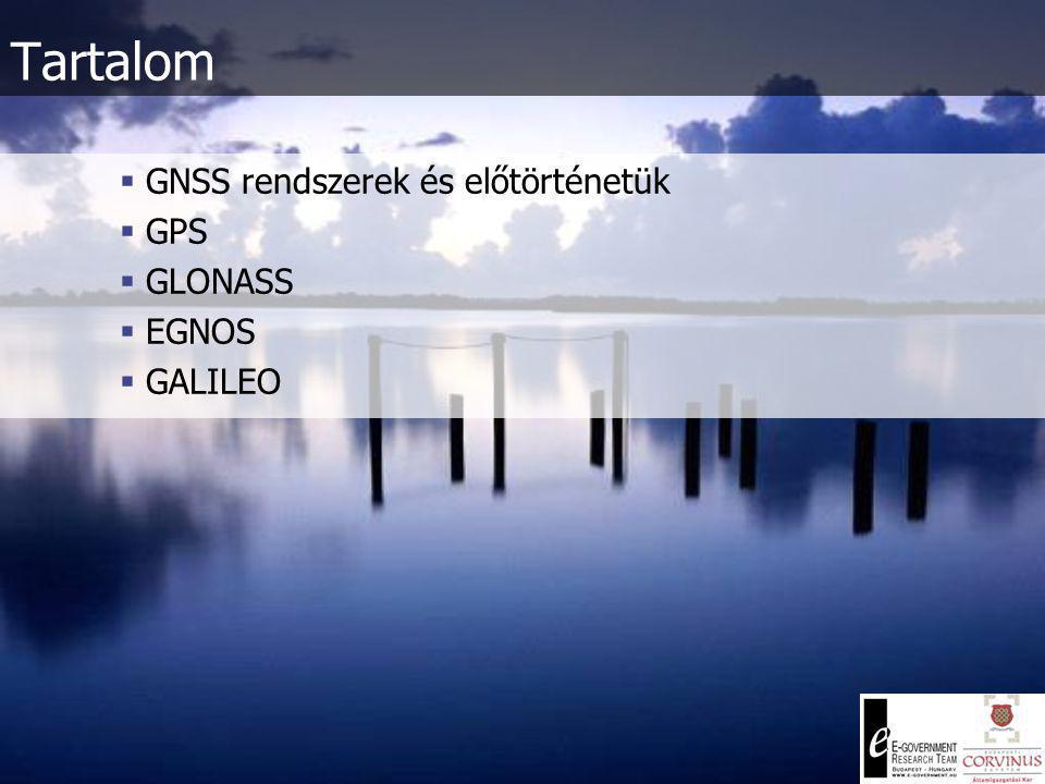 GNSS rendszerek Dr.
