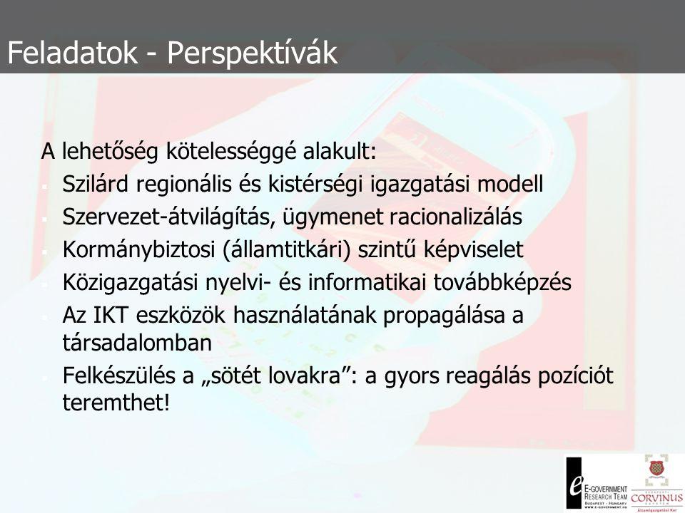  Számos kérdés nyitva maradt:  Nincs M-kögizgatási tudásbázis és portál  (mint pl.: Máltán)  Nincs intézményi és nemzeti m-gov (rész) stratégia 