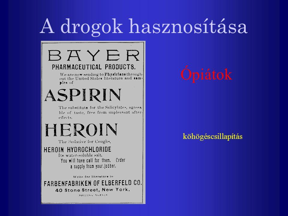 A drogok hasznosítása Amfetamin Hiperaktív gyerekek terápiája