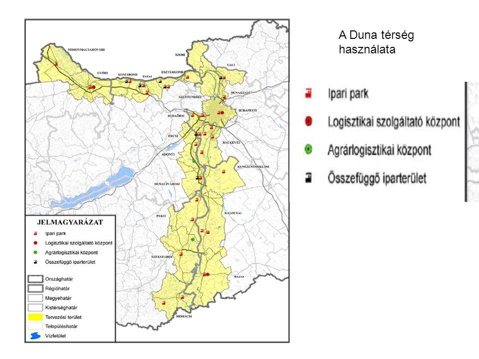 A Duna térség használata