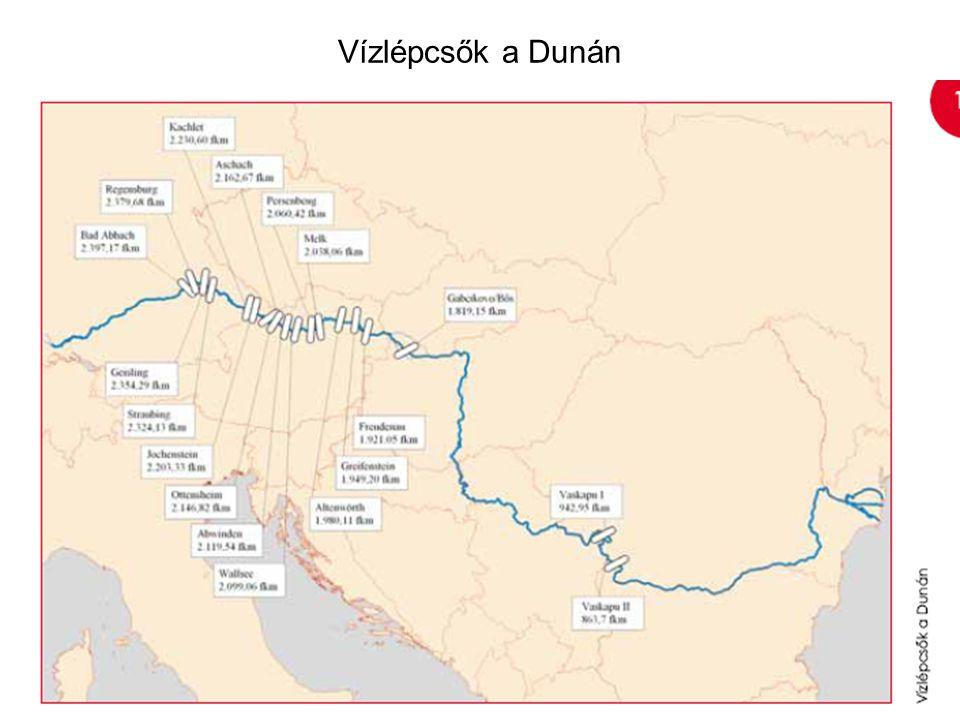 Vízlépcsők a Dunán