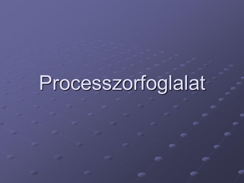 Foglalatok típusai PGA (Pin Grid Array) BGA (Ball Grid Array) LGA (Land Grid Array) Wikipédia – processzorfoglalatok listája Wikipédia – processzorfoglalatok listája (csak elrettentésképpen)