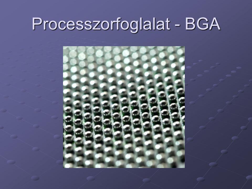 Processzorfoglalat - BGA