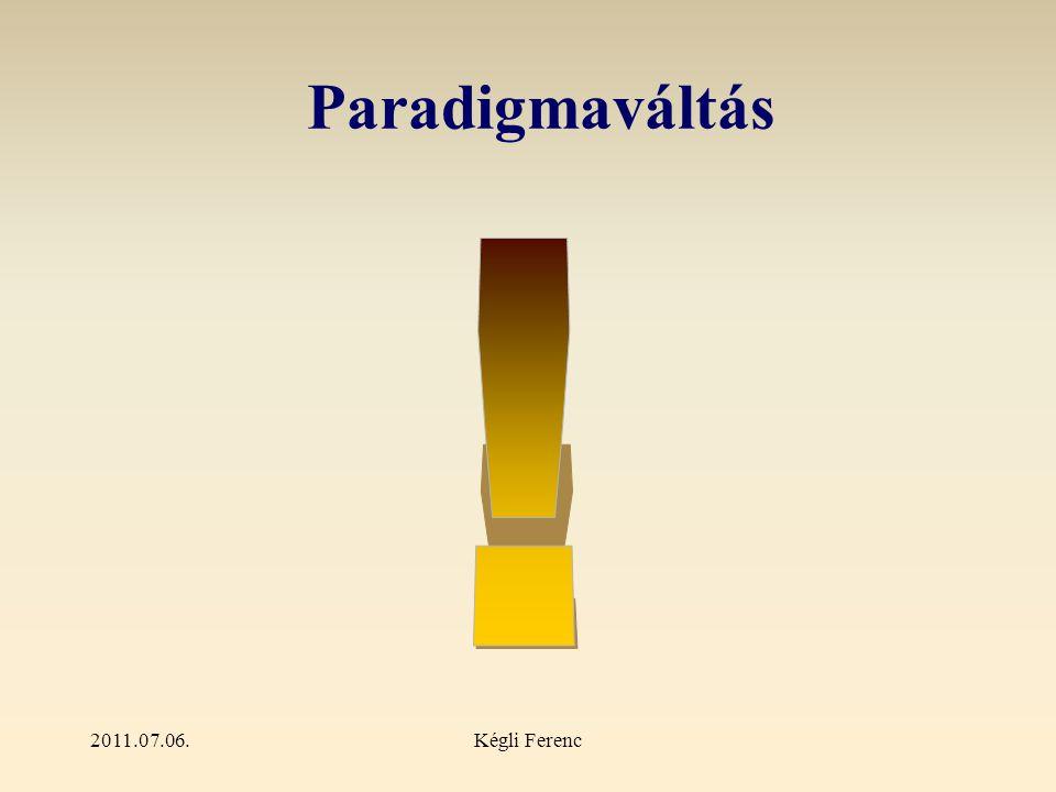 2011.07.06.Kégli Ferenc Paradigmaváltás