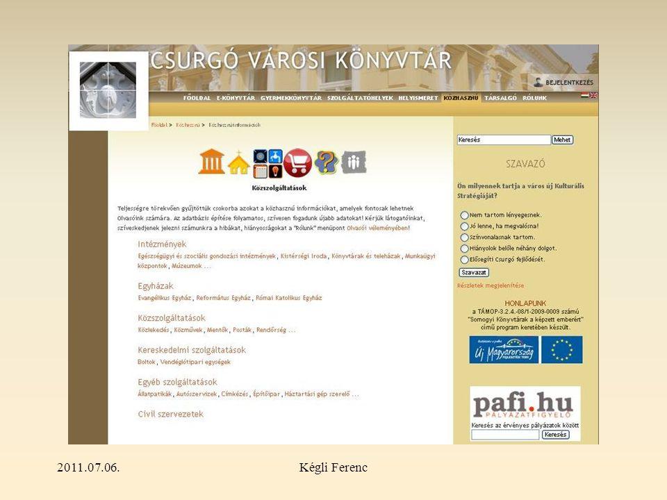 2011.07.06.Kégli Ferenc