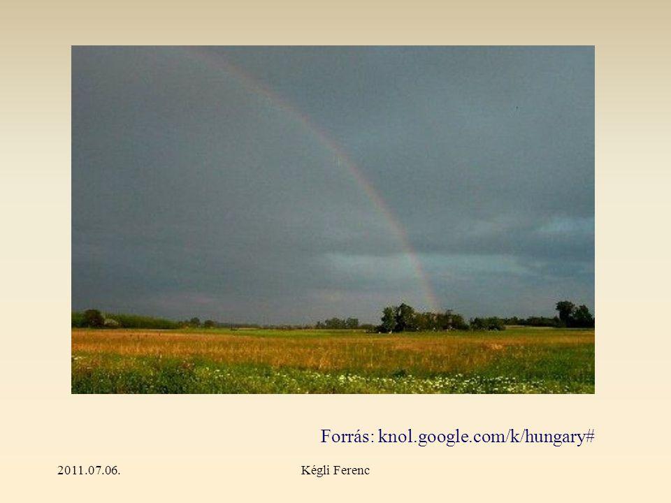 2011.07.06.Kégli Ferenc Forrás: knol.google.com/k/hungary#