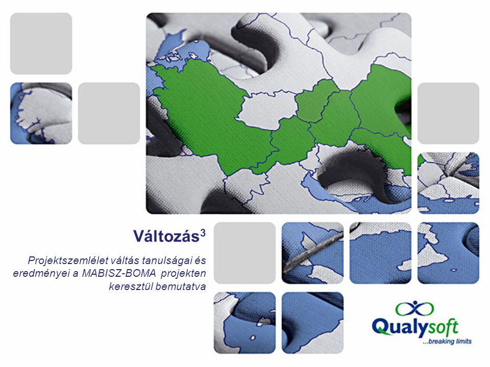 Változás 3 Projektszemlélet váltás tanulságai és eredményei a MABISZ-BOMA projekten keresztül bemutatva