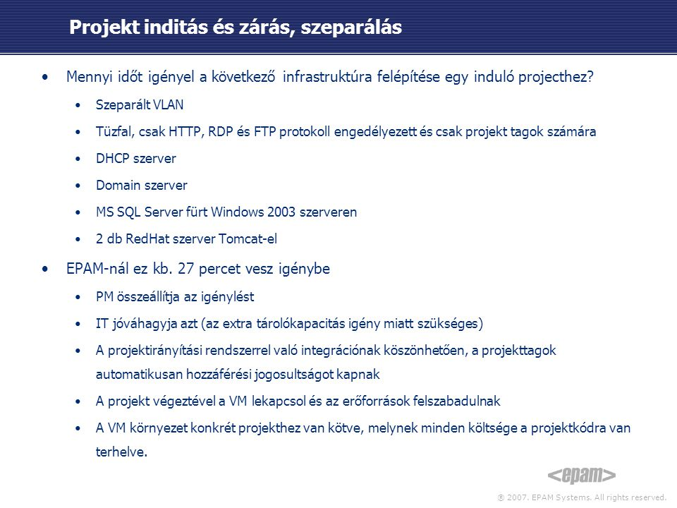 ® 2007. EPAM Systems. All rights reserved.