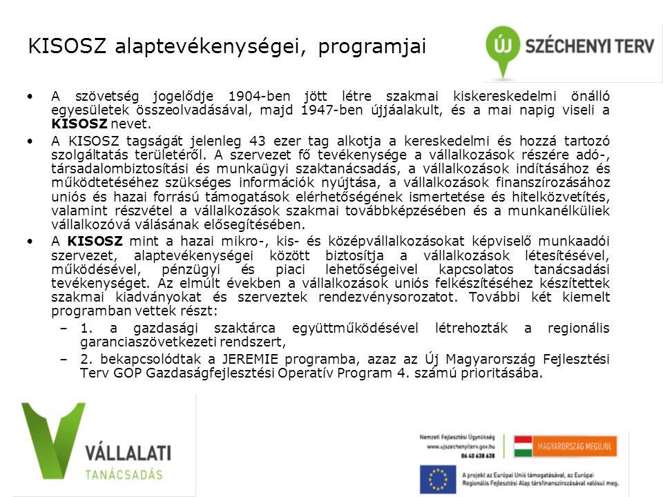 MVA alaptevékenységei, programjai 1990-ben alakult azzal a céllal, hogy támogatást nyújtson a magyarországi kis- és középvállalkozások létrejöttéhez és fejlődéséhez.