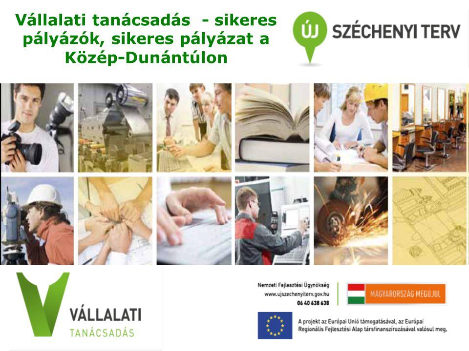 Vállalati tanácsadás - sikeres pályázók, sikeres pályázat a Közép-Dunántúlon